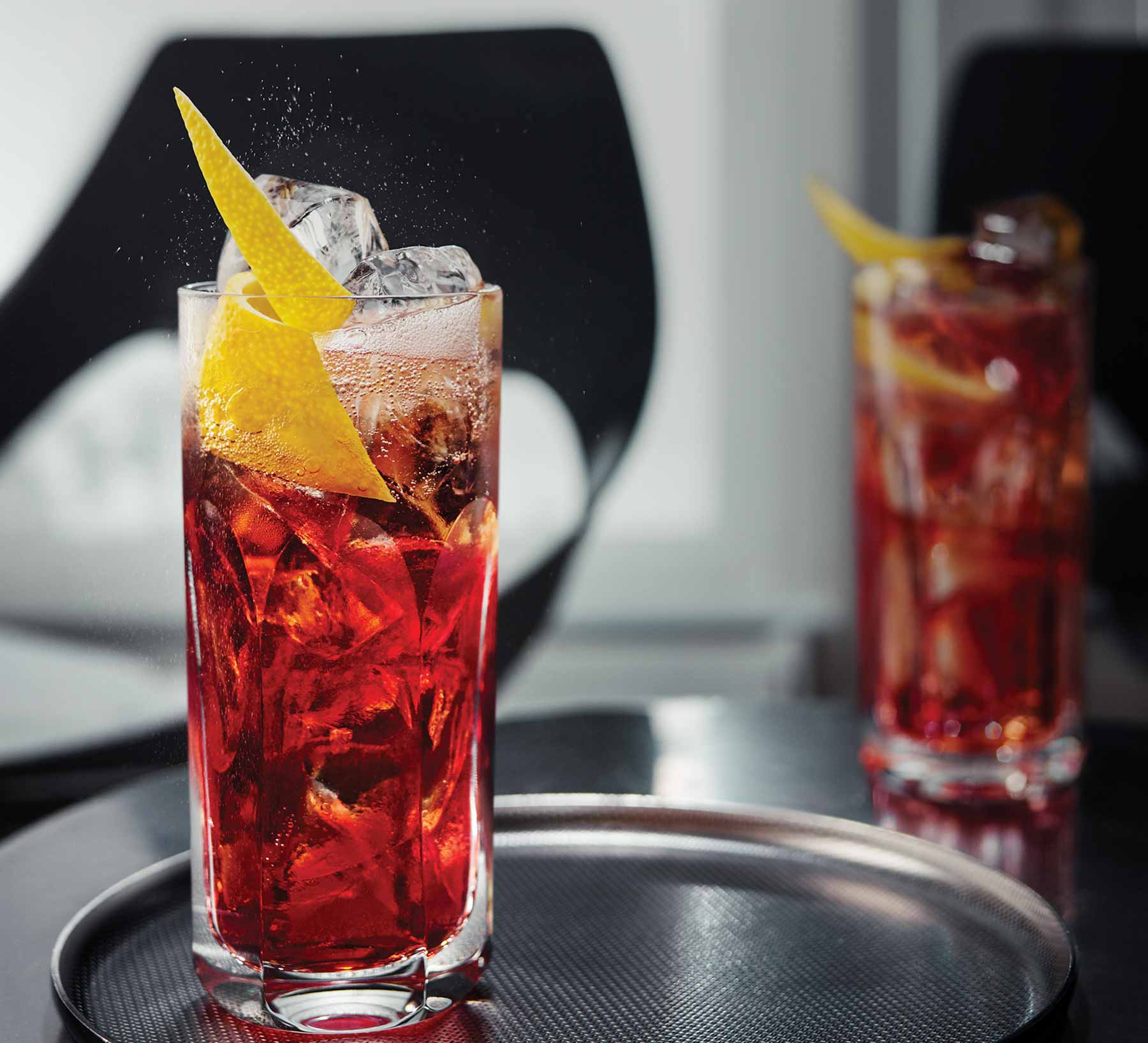 Campari Americano Cocktails
