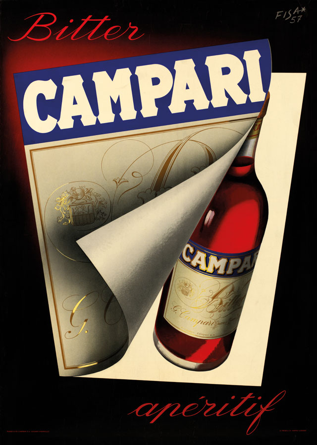 Bitter Campari Aperitif - The Arts