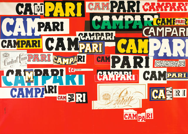 Bruno Munari Campari Arts